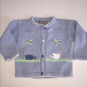 Gougane handmade knitwear cardigan sweater 12 m